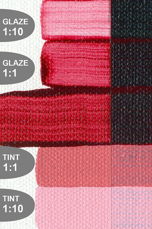 Golden Open Colour Acrylics - Series 7 - Quinacridone Crimson