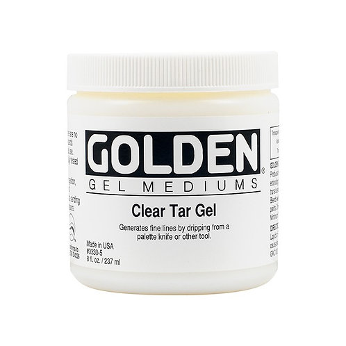 Golden Acrylics Clear Tar gel (3330)