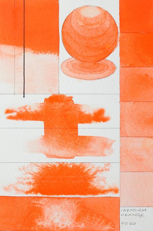 Golden QOR Watercolour - Cadmium Orange