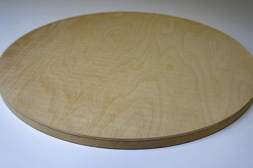 24mm Circle Birch Plywood MDF Z1 Panel 60cm