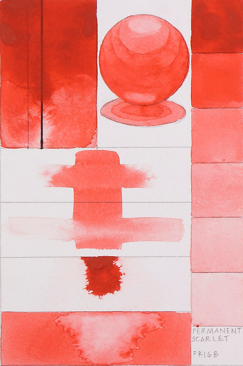 Golden QOR Watercolour - Permanent Scarlet