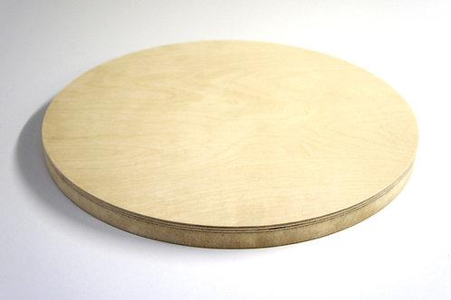 24mm Circle Birch Plywood MDF Z1 Panel - 125cm