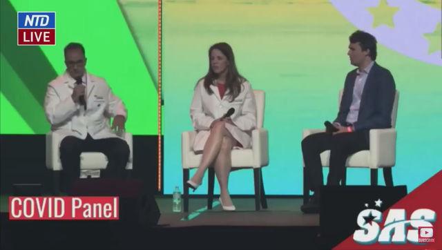 Top Doctors Talk At Covid panel