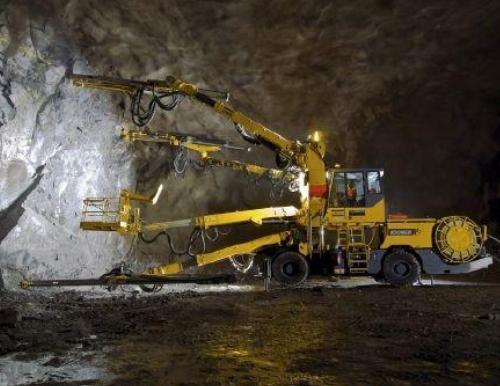 maquina extractora de minerales de alta tecnología para optimizar procesos y lograr la mayor productividad y eficiencia bajo tierra.