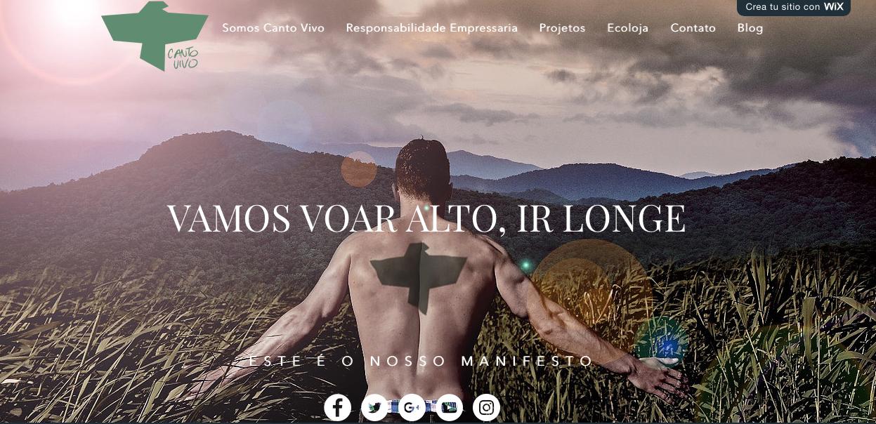 Nuevo sitio de la ong Canto Vivo