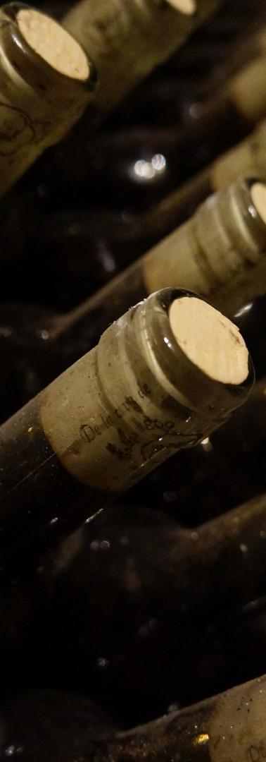 vino envasado de exportación sin etiquetar para exportar