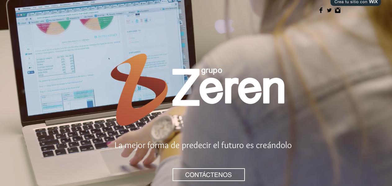 Manual de marca para Zeren Group