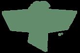 logo marca passarinho da ong ambentalista do brasil, canto vivo, o instituto de preservaçao da natureza