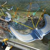 drones de reconocimiento de minerales para la industria de minería que permite detectar elementos quimicos bajo la tierra y tener mayor control en la exploracion