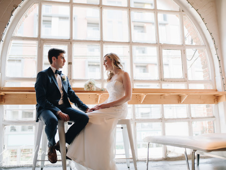 A Historic and Artful Wedding in the City