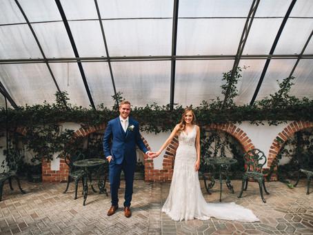 Lush Greenhouse Garden Wedding