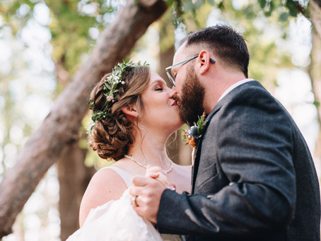 Autumn Wedding in the Forest