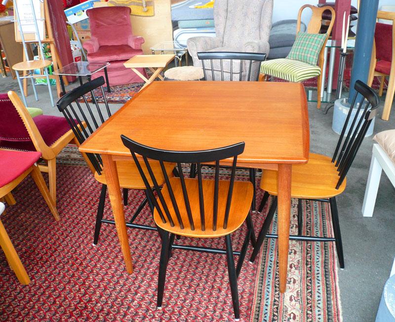 Möbel verschiedener Epochen
