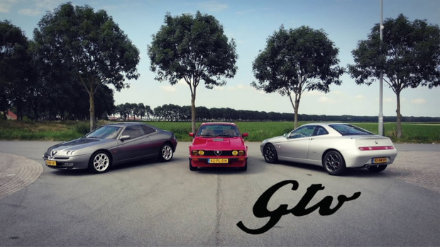 Alfa Romeo GTV V6 - Busso (deel 1/4)