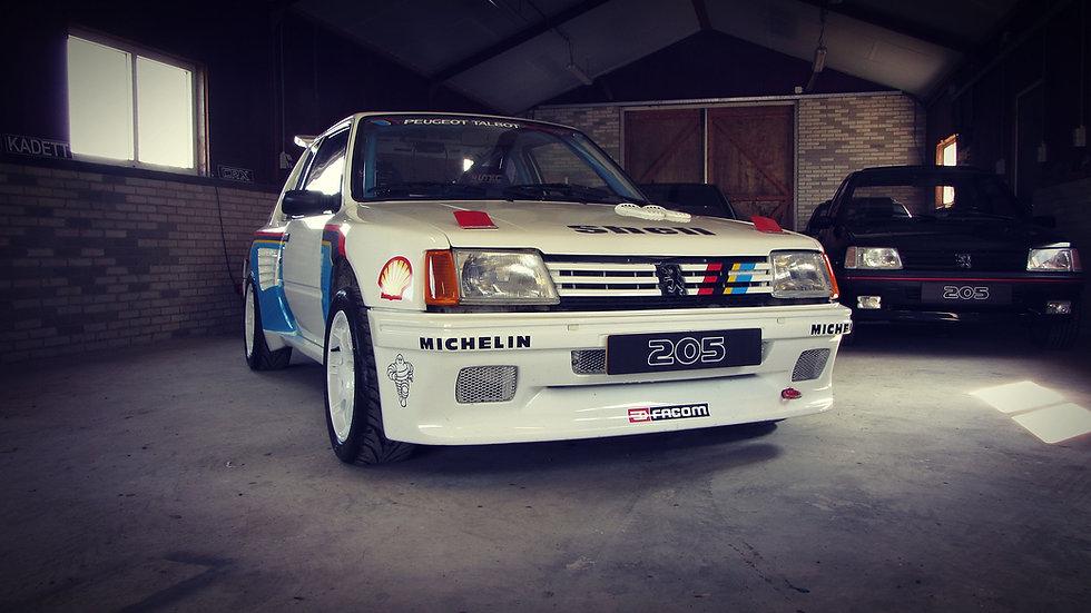Peugeot 205 Rallye 1.6 Dimma T16