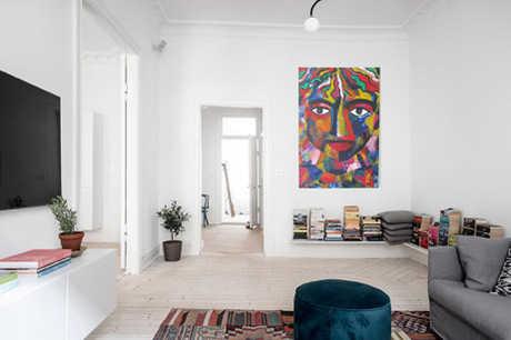 Colour man on a wall