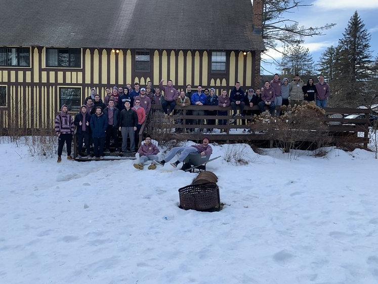UConn Pi Kapp Kappa Phi Frat Mountain Weekend