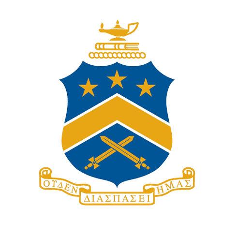 UConn Pi Kapp Kappa Phi Frat Coat of Arms