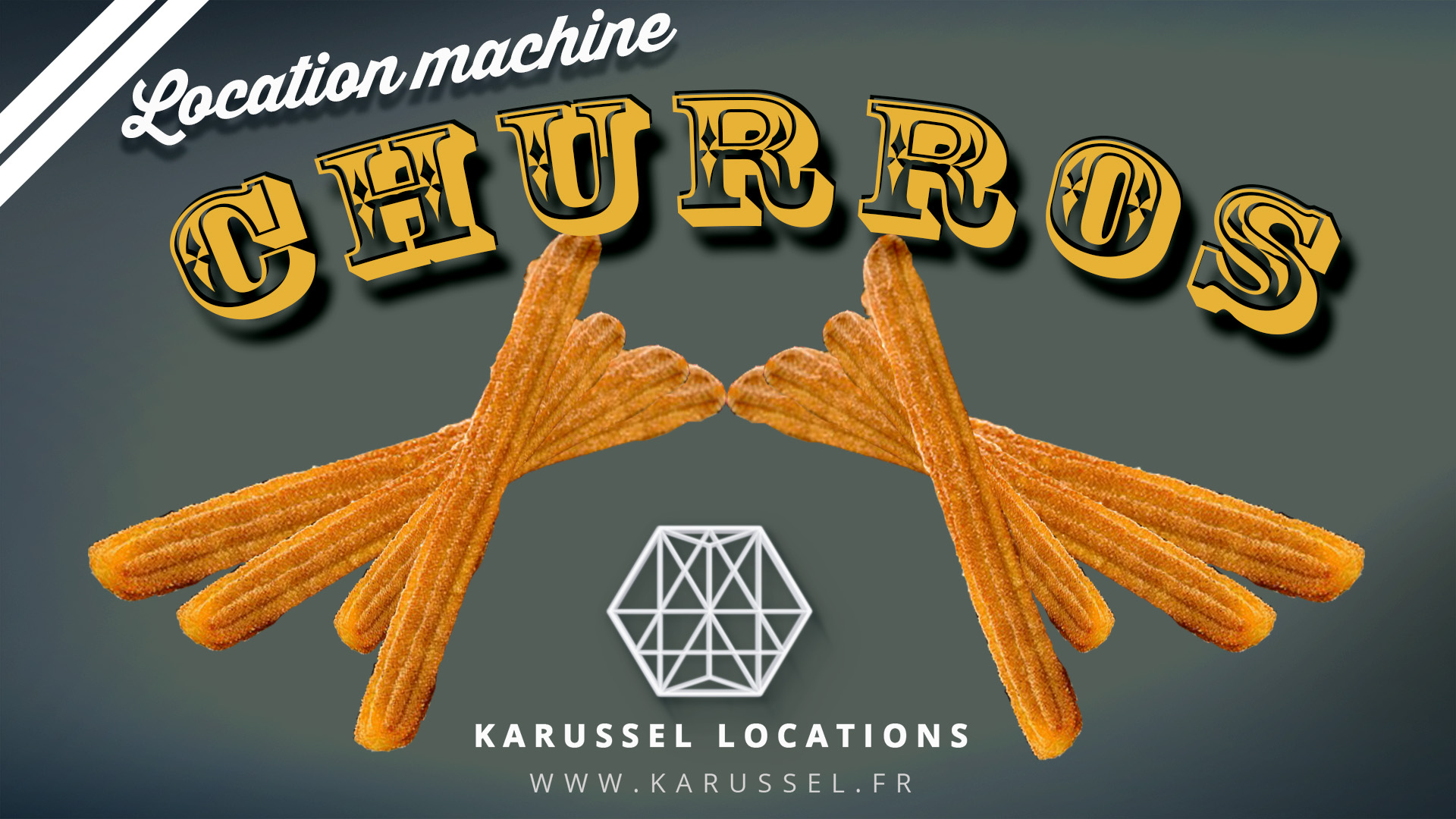 Location machine Churros