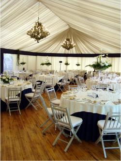 tente reception banquet