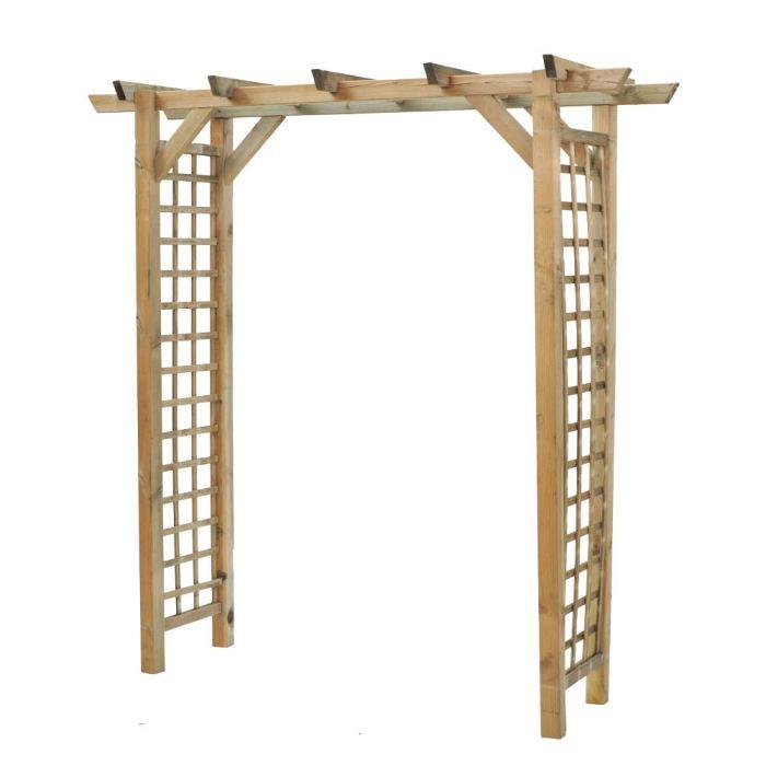 Location arche en bois