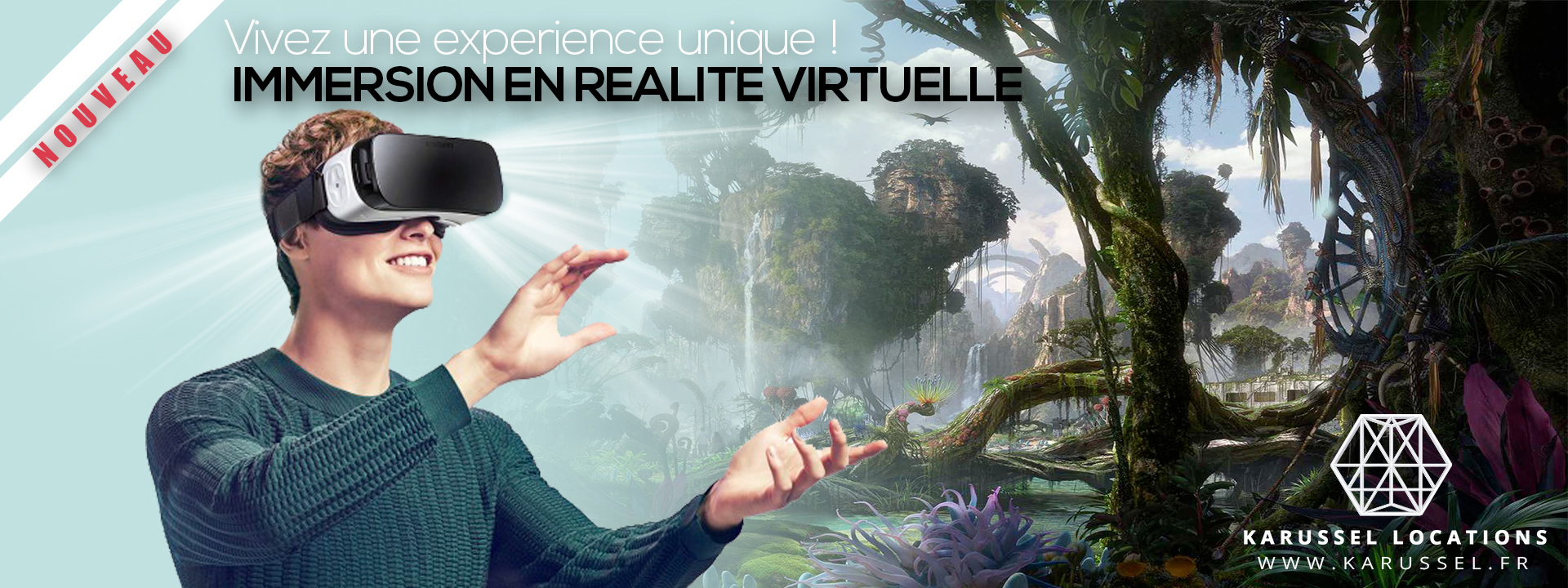 Immersion réalité virtuelle