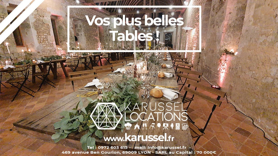 table Karussel
