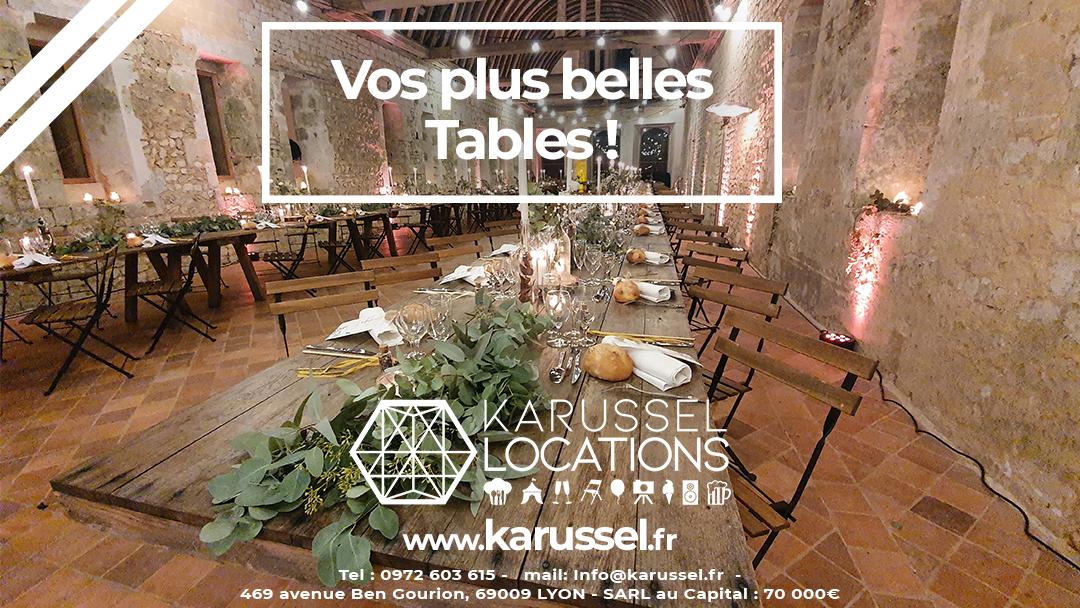 table Karussel