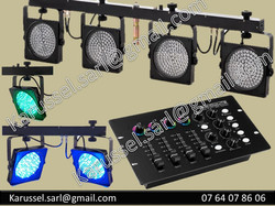 rampe LED DMX