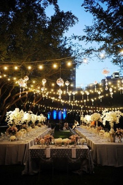 décoration mariage guirlande