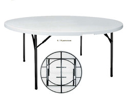 Location table ronde 10 personnes