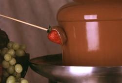 Chocolat de couverture pour fontaine