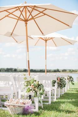 Location parasol blanc