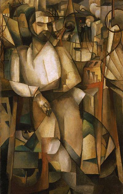 Albert_Gleizes,_l'Homme_au_Balcon,_1912,
