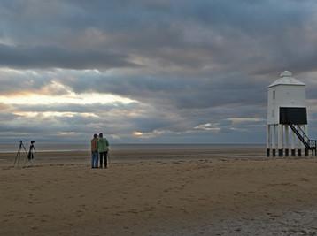 Summer trip to Burnham on Sea Beach