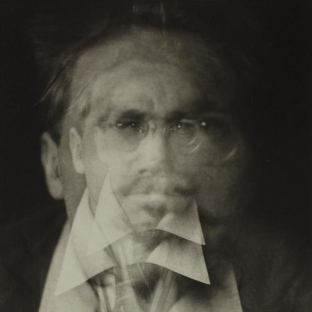 Alving Langdon Cobun - Vortograph of Ezra Pound