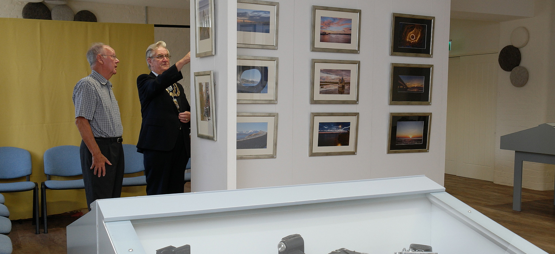 Annual exhibition preview evening