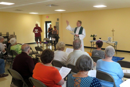 Blessing of the New Building