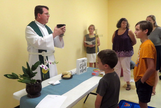 Blessing of New Building for Child of God Family Service
