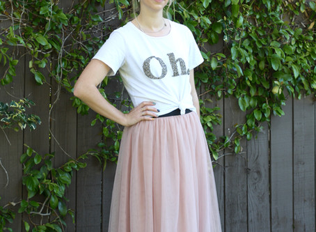 How To Wear a Tulle Skirt