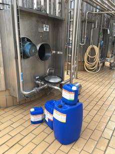 Higienização enzimática aindustrial