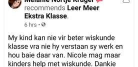 """Dankie aan almal vir hulle """"Reviews""""!"""