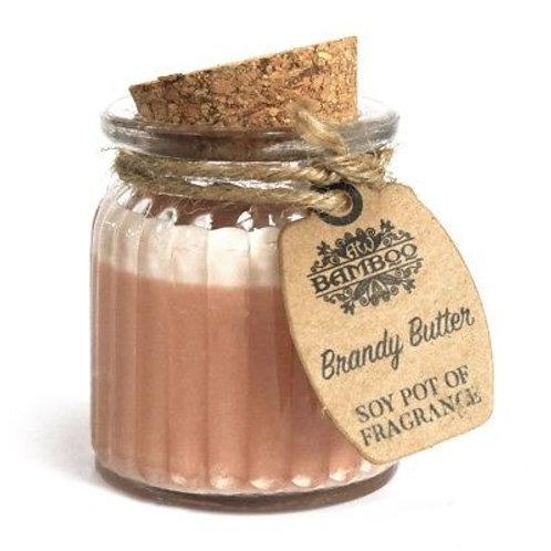 Brandy Butter Soy Pot of Fragrance