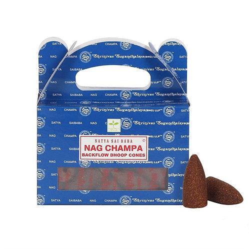 Satya Nag Champa Backflow Cones