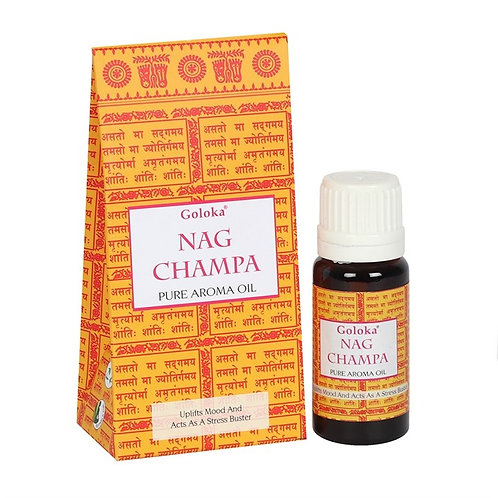 Goloka Nag Champa Aroma Oil