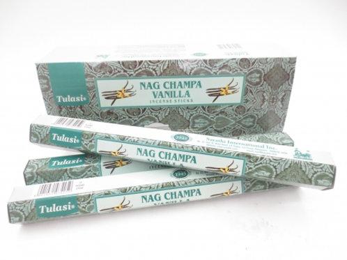 Nag Champa Vanilla Hexagonal tube