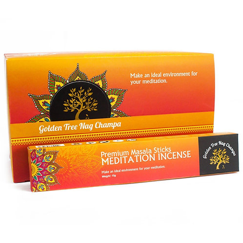 Golden Tree Nag Champa Meditation