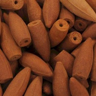 Loose Sandalwood Backflow Cones