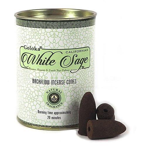 Goloka White Sage Tin