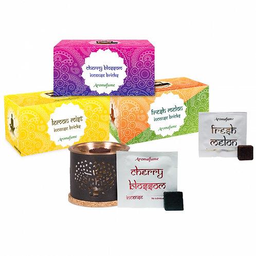 Aromafume Incense Brick Package